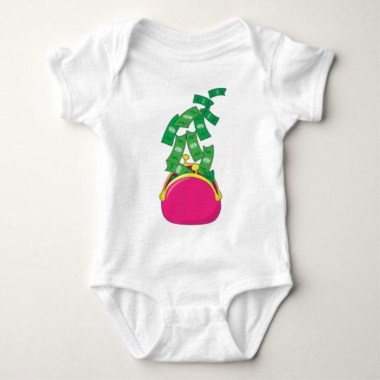 Money Purse Baby Bodysuit