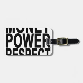 Money Respect T-Shirts.png Luggage Tag