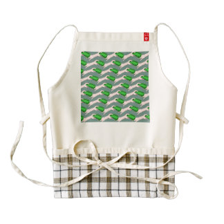 Money, Robbing Peter to Pay Paul Zazzle HEART Apron