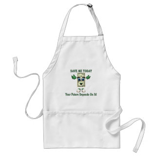 Money - Save Me Today Adult Apron