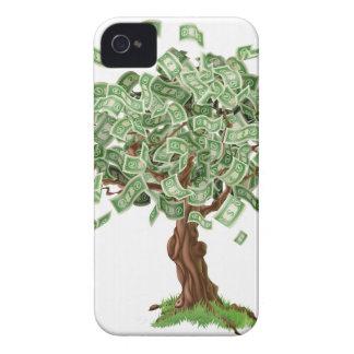 Money savings tree iPhone 4 Case-Mate case