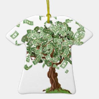 Money savings tree christmas tree ornaments