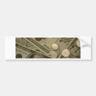 Money Shot - All About The Money Bumper Sticker