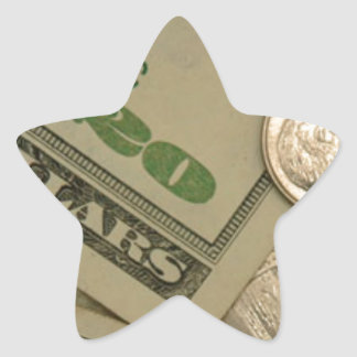 Money Shot - All About The Money Star Sticker