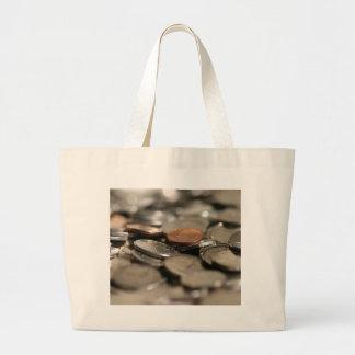 Money Shower Large Tote Bag