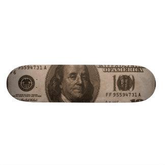 MONEY SKATEBOARD DECKS