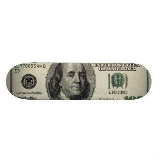 moneY Skateboard Deck