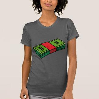 Money stack t-shirt