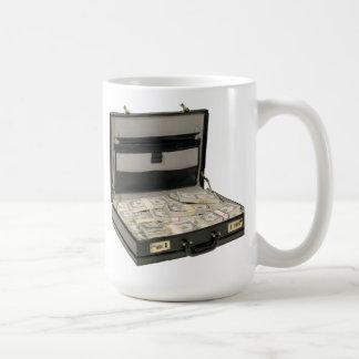 Money Suitcase Coffee Mug