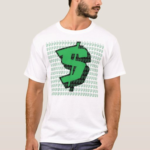 Money t shirt zazzle for How to make a shirt with money