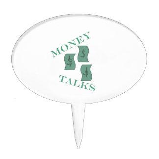 Money Talks Cake Topper