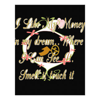 Money talks in my dreams and I love it.png Letterhead