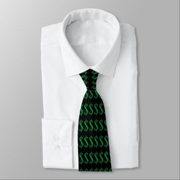 Professional Business Money Tie