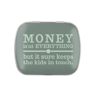 MONEY tins & jars Jelly Belly Tin