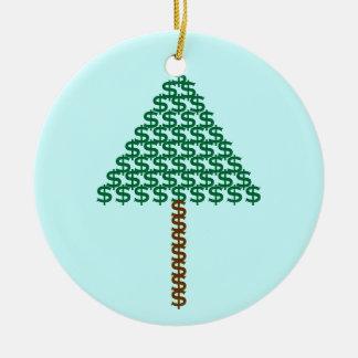 Money Tree Ceramic Ornament