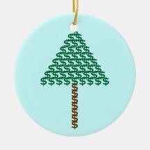 Money Tree Christmas Ornament