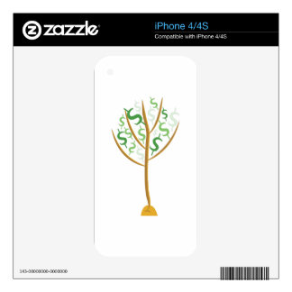 Money Tree Decals For The iPhone 4S