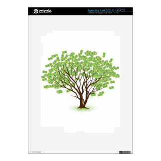 Money Tree Financial Growth Graphic iPad 3 Skins