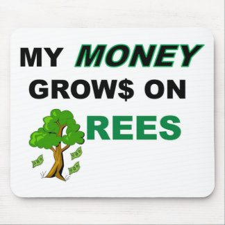 Money Tree Full Mouse Pad