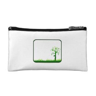 money tree grass rectangle frame graphic png makeup bag