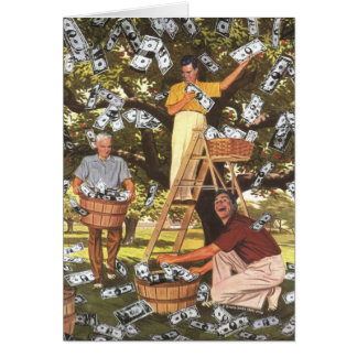 Money Tree Greeting Card