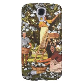 Money Tree iPhone 3G Samsung Galaxy S4 Cases