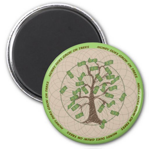 Money Tree Magnet