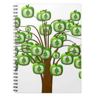 money tree notebook