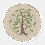 Money Tree Sticker