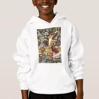 Money Tree T-Shirt Kids Pullover Hoodie