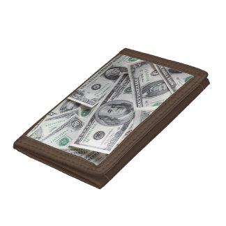 Money Tri-fold Wallets