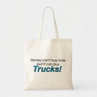 Money & Trucks Budget Tote Bag