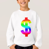 Money US-Dollar Cute Silhouette Anime Sweatshirt