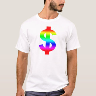 Money US-Dollar Cute Silhouette Anime T-Shirt