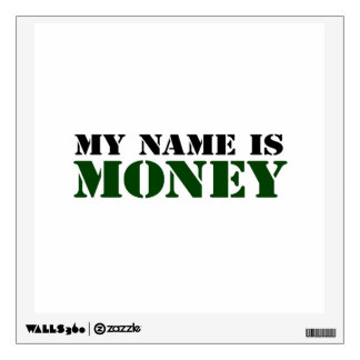 Money Wall Decal