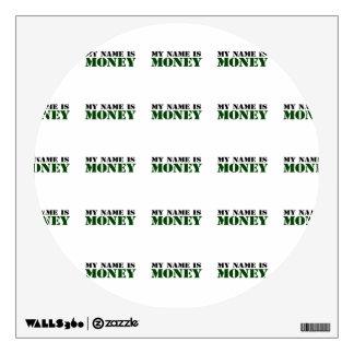 Money Wall Sticker