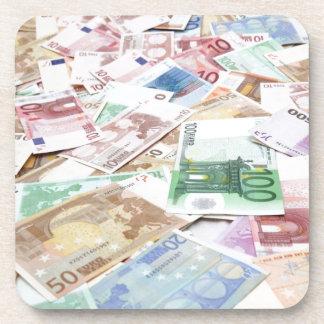 Money & wealth drink coaster