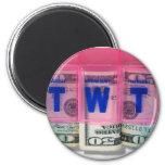 MoneyBudget041109shadows Fridge Magnets