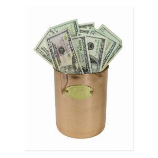 MoneyCopperPot100711 Postales