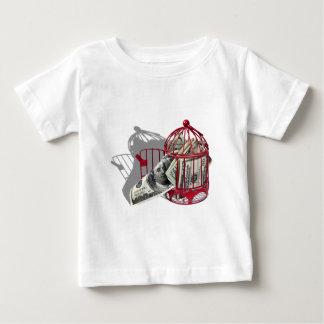 MoneyFlyingCoop092110 Baby T-Shirt
