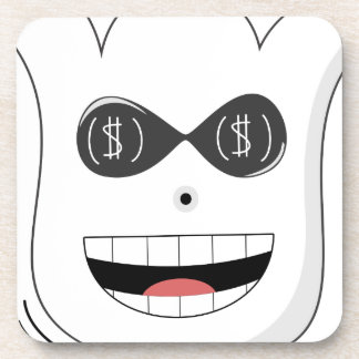 Moneyghost Beverage Coaster