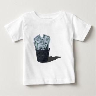MoneyInLaundryBasket070315.png Baby T-Shirt