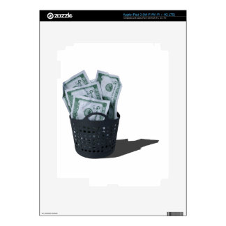 MoneyInLaundryBasket070315.png Pegatinas Skins Para iPad 3