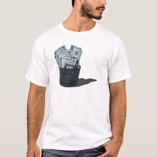 MoneyInLaundryBasket070315.png T-Shirt