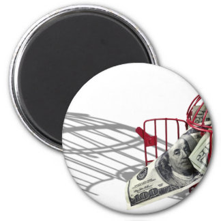 MoneyMissingFlyingCoop092110 2 Inch Round Magnet