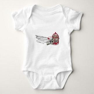 MoneyMissingFlyingCoop092110 Baby Bodysuit