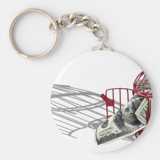 MoneyMissingFlyingCoop092110 Keychain