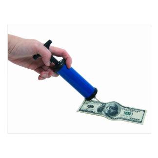 MoneyPumpInflate040909 Postcard