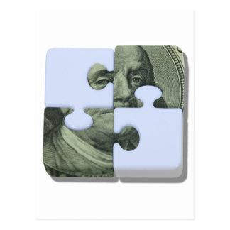 MoneyPuzzle101310 Postcard