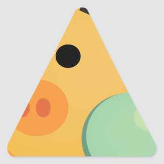 Moneywize Piggy Triangle Sticker